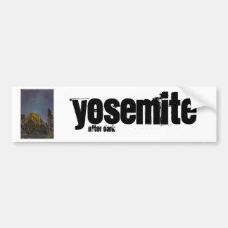 Autocollant De Voiture Ciel nocturne d'EL Capitan de vallée de Yosemite