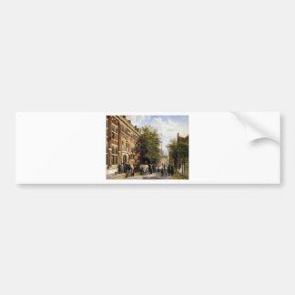Autocollant De Voiture Cityview Hoorn par Cornelis Springer
