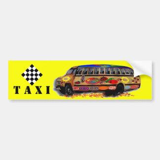Autocollant De Voiture Coccinelle de minibus de taxi