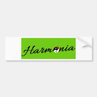 Autocollant De Voiture Coccinelle Harmonia zen