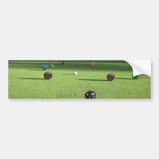 Autocollant De Voiture Colorful_Lawn_Bowls, _