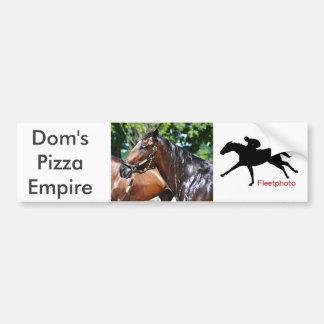 Autocollant De Voiture Colt d'empire de la pizza des DOM