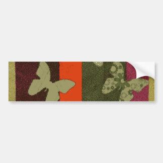 Autocollant De Voiture Conception colorée de papillons