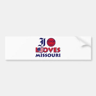 Autocollant De Voiture Conceptions du Missouri