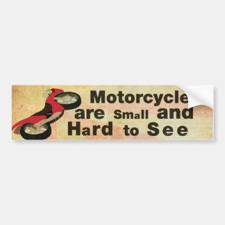 Autocollant De Voiture Conscience de moto