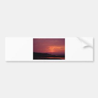 Autocollant De Voiture coucher du soleil 3