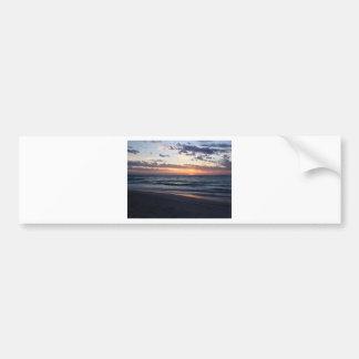 Autocollant De Voiture Coucher du soleil au-dessus de baie de Jurien,