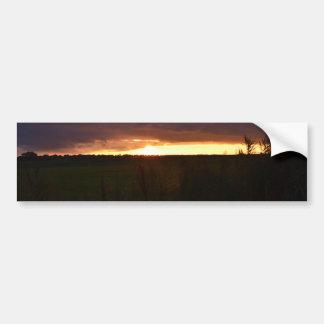 Autocollant De Voiture Coucher du soleil près de Southwold