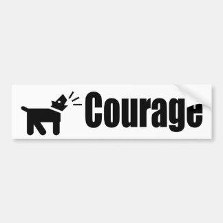 Autocollant De Voiture Courage