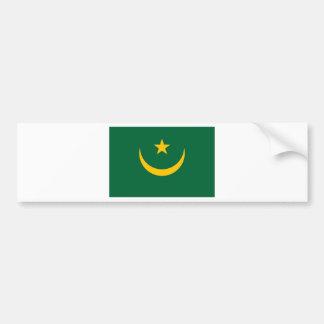 Autocollant De Voiture Coût bas ! Drapeau de la Mauritanie