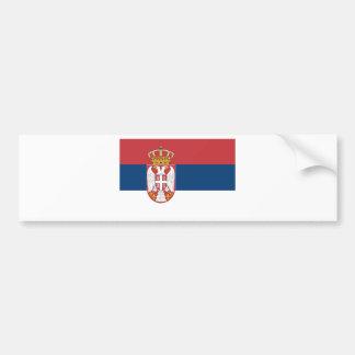 Autocollant De Voiture Coût bas ! Drapeau de la Serbie