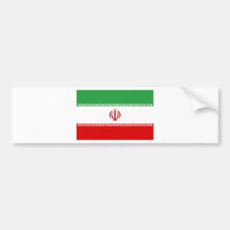 Autocollant De Voiture Coût bas ! Drapeau de l'Iran