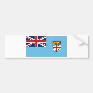 Autocollant De Voiture Coût bas ! Drapeau des Fidji