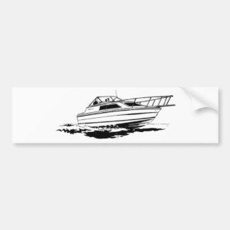 Autocollant De Voiture Croiseur de bateau de vitesse