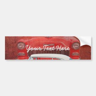 Autocollant De Voiture Cru blanc rouge de Dodge de voitures de Bel Air