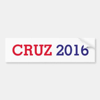 Autocollant De Voiture Cruz 2016