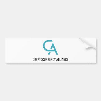 Autocollant De Voiture CryptocurrencyAlliance