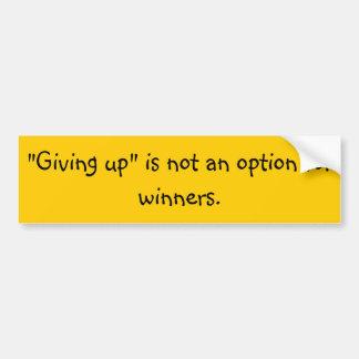 Autocollant De Voiture De motivation