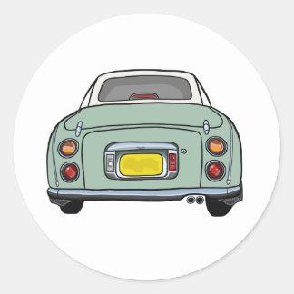 Autocollant de voiture de Nissan Figaro de vert