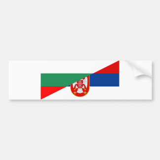 Autocollant De Voiture de symbole de pays de drapeau de la Serbie
