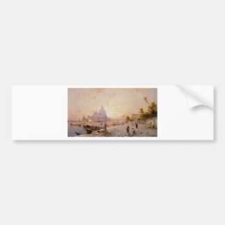 Autocollant De Voiture Degli Schiavoni, Venise de Riva par Franz Richard