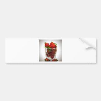 Autocollant De Voiture Dessert de fraise
