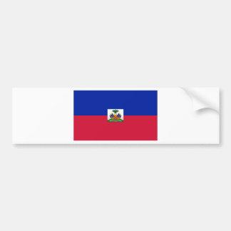 Autocollant De Voiture d'Haïti de Drapeau - drapeau du Haïti