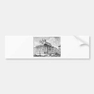 Autocollant De Voiture Di Roma de Vedute par Giovanni Battista Piranesi