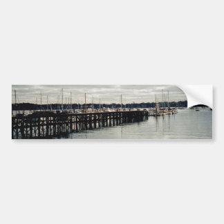Autocollant De Voiture Dock de bateau