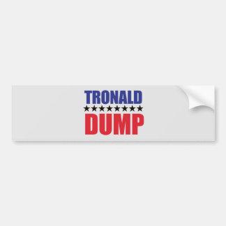 Autocollant De Voiture Donald Trump - adhésif pour pare-chocs de décharge