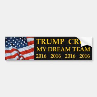 Autocollant De Voiture Donald Trump Ted Cruz mon adhésif pour pare-chocs