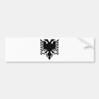 Autocollant De Voiture Double aigle dirigé albanais