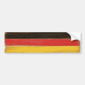 Autocollant De Voiture Drapeau allemand affligé par cool d'adhésif pour