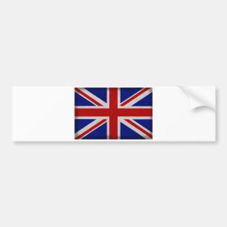 Autocollant De Voiture Drapeau Anglais d'Angleterre texturé