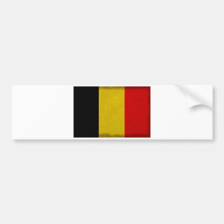 Autocollant De Voiture Drapeau Belgique Belge