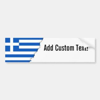 Autocollant De Voiture Drapeau de la Grèce