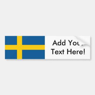 Autocollant De Voiture Drapeau de la Suède