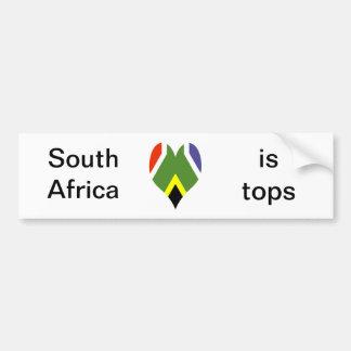 Autocollant De Voiture Drapeau de l'Afrique du Sud Bokke