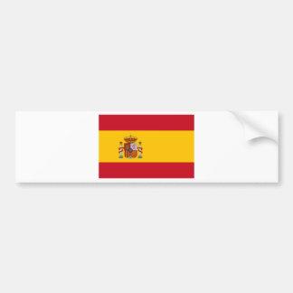 Autocollant De Voiture Drapeau de l'Espagne - le Bandera de España -