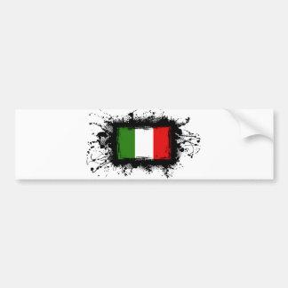 Autocollant De Voiture Drapeau de l'Italie
