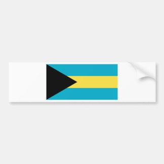 Autocollant De Voiture Drapeau des Bahamas