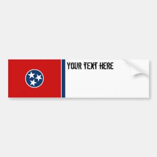 Autocollant De Voiture Drapeau d'état du Tennessee