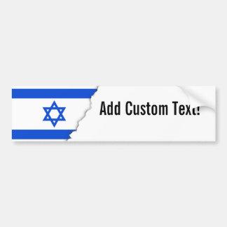 Autocollant De Voiture Drapeau d'Israélien