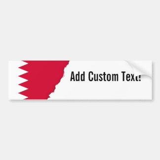Autocollant De Voiture Drapeau du Bahrain