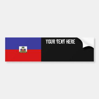 Autocollant De Voiture Drapeau du Haïti
