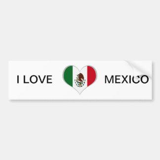 Autocollant De Voiture Drapeau du Mexique
