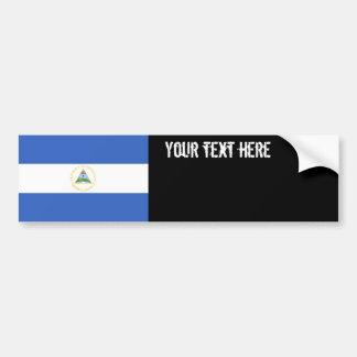 Autocollant De Voiture Drapeau du Nicaragua