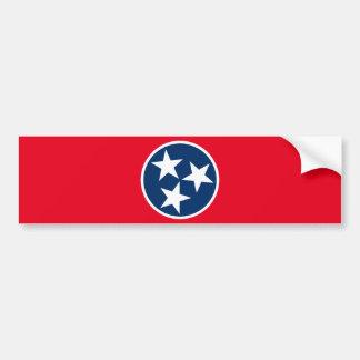 Autocollant De Voiture Drapeau du Tennessee