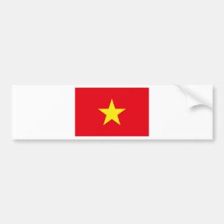 Autocollant De Voiture Drapeau du Vietnam