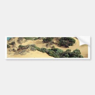 Autocollant De Voiture Dunes de sable balayées par le vent, Australie